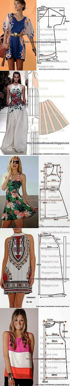 Discover recipes, home ideas, style inspiration and other ideas to try. Diy Clothing, Clothing Patterns, Dress Patterns, Sewing Patterns, Sewing Dress, Sewing Clothes, Fashion Sewing, Diy Fashion, Diy Vetement