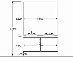 Architectural Standards Library: for fundamental Designing and Planning Orthographic Projection, Orthographic Drawing, Architecture Details, Interior Architecture, Interior Design, Interlocking Bricks, Slab Foundation, Dressing Table Design, Bathroom Plans