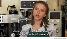 waitress picture jokes | Funny Pictures Waitress threatens to poison everyone[GIF]