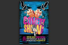 Comedy Show Flyer  @creativework247