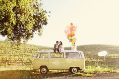 """This couple based their engagement photos off of the Disney Pixar movie """"Up"""". These are some of the most unique pictures i've ever seen. Kudos to them."""