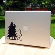 Sasquatch Surface Decal - $8