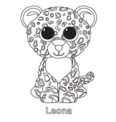 Ty beanie boo coloring pages download and print for free ...
