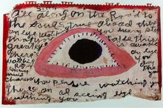 neon-fruit-supermarket:    Alan Jaffe There is an eye watching you c. 1965