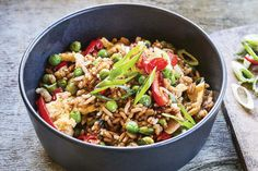 Nici's Best Ever Fried Rice Vegetarian Recipes, Cooking Recipes, Frozen Peas, Latest Recipe, Savory Snacks, Fried Rice, Family Meals, Food To Make, Easy Meals