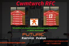 More superior/quality playing shirts! #21daysdelivery   #value for CWMTWRCH RFC #union Join the growing Future Family! #lookgoodplaygood