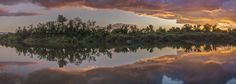 Purchase this product now and earn 150 Points!This panorama of the reflection of…