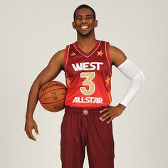 Chris Paul CP3! of the Clippers starting as one of the Western All Stars (2012)