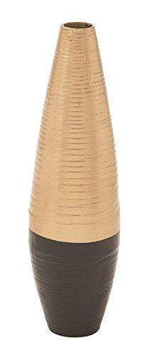 "Deco 79 49088 Lacquer Bamboo Vase 6""D, 21""H -: Amazon.co.uk: Kitchen & Home"