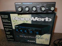 Alesis NanoVerb 18 Bit Digital Effects Processor