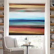 Oil Painting Style Colored Abstract Forms Ⅱ linen... – GBP £ 29.19