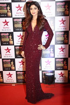 Shilpa Shetty @ Star Screen Awards 2016                                                                                                                                                     More
