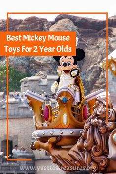 The ultimate Mickey Mouse gift list for toddlers. Plenty of Mickey Mouse toys to choose from. Mickey Mouse games, wooden trains, Mickey Mouse ride on toys, and so much more. Visit us today! #mickeymousetoys #mickeymousegiftideas #giftsforkids #toysfortoddlers #disneytoys Mickey Mouse Games, Minnie Mouse Toys, Disney Gift, Disney Toys, Top Christmas Toys, Learning Toys For Toddlers, Unique Gifts For Kids, Ride On Toys, Gift List