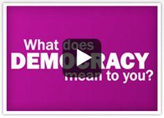 Democracy Video (Government Unit Plan)