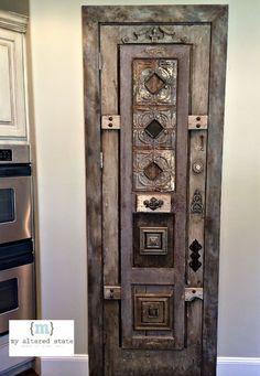 Door Transformation | Home Decor - LOVE!