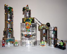 recycling at school: 81. Gaudi inspired