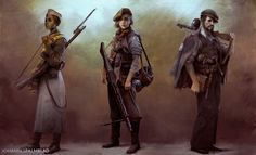 ArtStation - Rise, Rebel, Resist, Johannes Palmblad