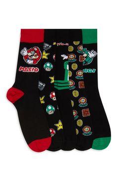 Sokken Mario, 5 paar