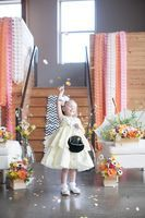 how beautiful is this sorbet inspired wedding & flower girl! [more at pinterest.com/eventsbygab]