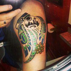 17 best seattle seahawks tattoo s images on pinterest seattle