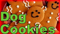 Gingerbread Dog Treats - Just in time for the Holidays! Make your own Gingerbread Dog Cookies!