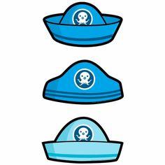 Octonauts Cardboard Hats