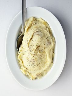 An easy way to make mashed potatoes healthier is easier than you think. Instead of oft-used Russet potatoes, go for Yukon Golds or Yellow Finns.