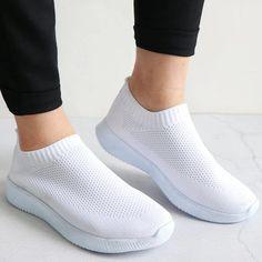 Mila - Breathable Sneakers Vegan Sneakers, Slip On Sneakers, Vegan Lifestyle, Getting Wet, Vegan Leather, Footwear, Lace, Shoes, Women