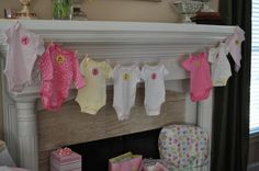 Baby Shower - Girl, or boy, if I am ever so lucky to host one in the future!
