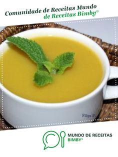 Creme de legumes com hortelã de Filipa Porto. Receita Bimby<sup>®</sup> na categoria Sopas do www.mundodereceitasbimby.com.pt, A Comunidade de Receitas Bimby<sup>®</sup>.