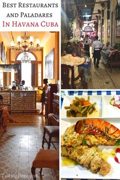 Best restaurants and paladares in Havana Cuba & what Cuban food is like in Cuba | TastingPage.com