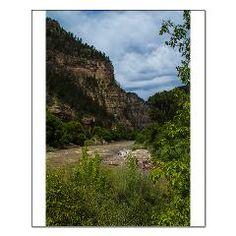 Colorado river running throw Glenwood canyon Small > innerAA $16.79