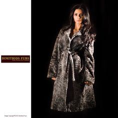 Fur Coat - Natural Gray Persian Lamb Coat