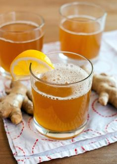 Recipe: Ginger Kombucha — Drink Recipes from The Kitchn