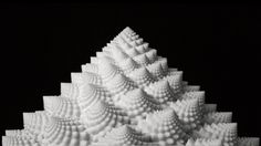 BLOOMS 2: Strobe Animated Sculptures Invented by John Edmark
