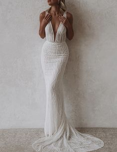 Luxury Wedding Dress, Classic Wedding Dress, Dream Wedding Dresses, Wedding Gowns, Sexy Gown, Gala Dresses, Wedding Ties, Lovely Dresses, Dream Dress