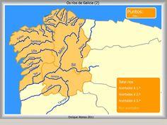 Mapa interactivo de Galicia Ríos de Galicia. Como se chama? - Mapas Interactivos