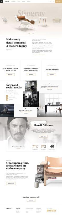 Creative Web, Design, and Layout image ideas & inspiration on Designspiration Modern Web Design, Web Ui Design, Layout Design, Graphic Design, Website Design Inspiration, Layout Inspiration, Daily Inspiration, Ui Web, Interactive Design