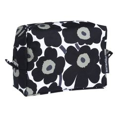 Verso Mini-Unikko Cosmetic Bag White/Black Red And Pink, Black And White, Marimekko, Cosmetic Bag, Coin Purse, Cosmetics, Wallet, Purses, Mini