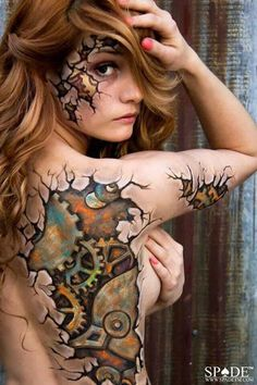 Digital Magazine Source in the World for bodypaint, bodypainting, bodyart, body paint models, photography and body art images articles. Painting Tattoo, Tatoo Art, Body Art Tattoos, Tattoo Girls, Girl Tattoos, Anatomy Sketch, Skin Wars, Art Halloween, Girl Faces