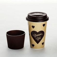 """Coffee-to-go-Becher """"Glamour Girl"""""""