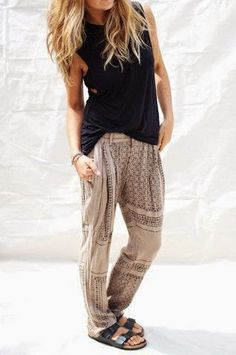simple casual boho