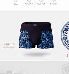 Cheap underwear fun, Buy Quality pants lace directly from China pants capris Suppliers: BIZHU Soft breathable Bamboo fiber Men Underwear U convex corner men's modal Flower printed pants Boxers Shorts Obesity Boxers Shorts, Boxer Pants, Best Underwear, Way To Make Money, How To Make, Printed Pants, Flower Prints, Bamboo, Fiber