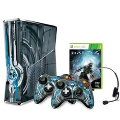 Xbox 360 Limited Edition Halo 4 Bundle.