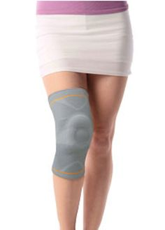 Knee Brace Support for Meniscus Tear Have you overworked your knee joint? Suffer from osteoarthritis or cartilage damage? The Patella & Ligament assisted knee support provides compression, warmth and improves blood flow to the soft tissue areas surrounding the joint. The silicone pad around the patella reduces the pressure on the patella and allows for greater stability. Soft Splints present on the sides, ensure enhanced support and stabilization.