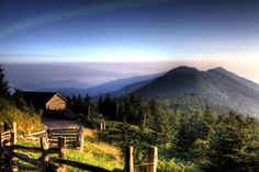7. The Blue Ridge Parkway is home to the highest peak east of the Mississippi, Mt. Mitchell.