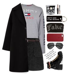 """""""#fuzzycoats ts 16/11/2017"""" by altrisa-mulla ❤ liked on Polyvore featuring Various Projects, Jaded, Chanel, Forever 21, Apple, Tommy Hilfiger, Yves Saint Laurent and Gucci"""