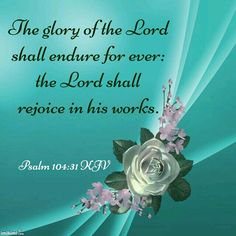 Psalm 104:31 KJV