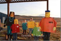 Keeping it Simple: Lego Halloween costumes