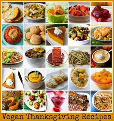 Vegan Thanksgiving Recipes. Mega Recipe Round-up.